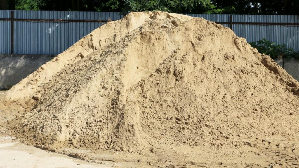 Kopaný písek