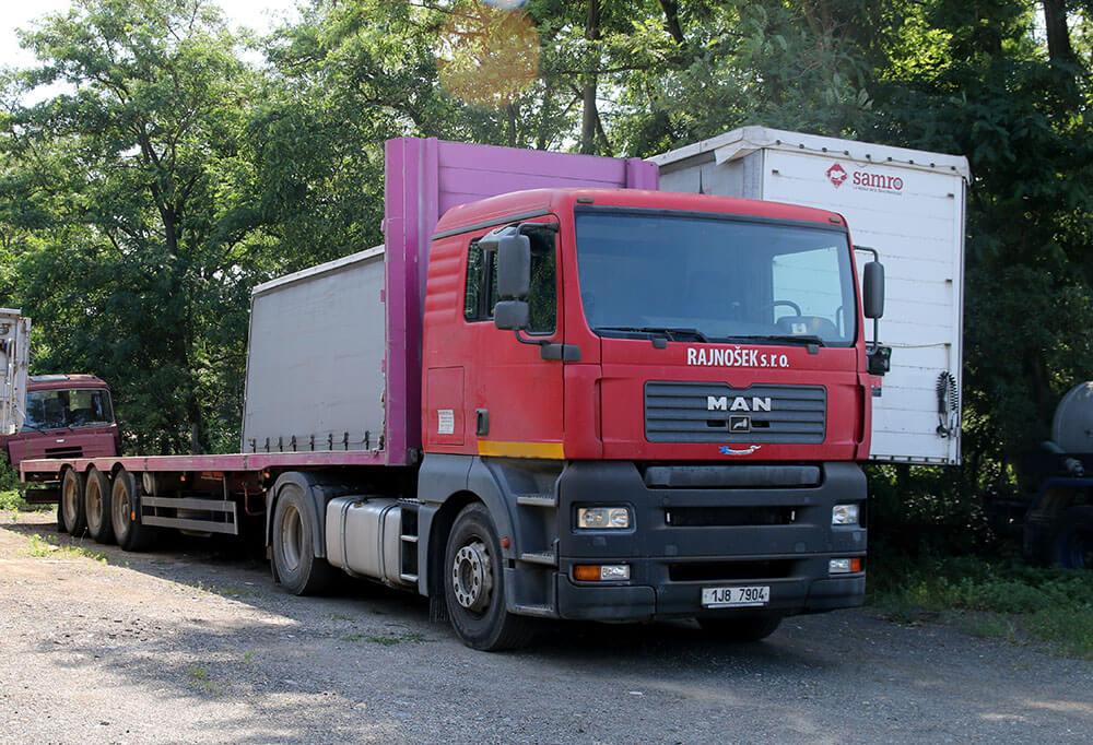 nákladní auto Man
